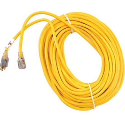 Advanced Fastening Supply - SJTW EXTENSION CORD YELLOW W/LIGHTED ENDS